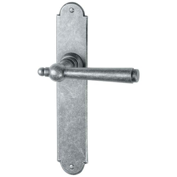 Zimmertürgarnitur thermopatiniert ®, BB, 72 mm L x B: 220 mm x 40 mm der Serie TG052 Bild1