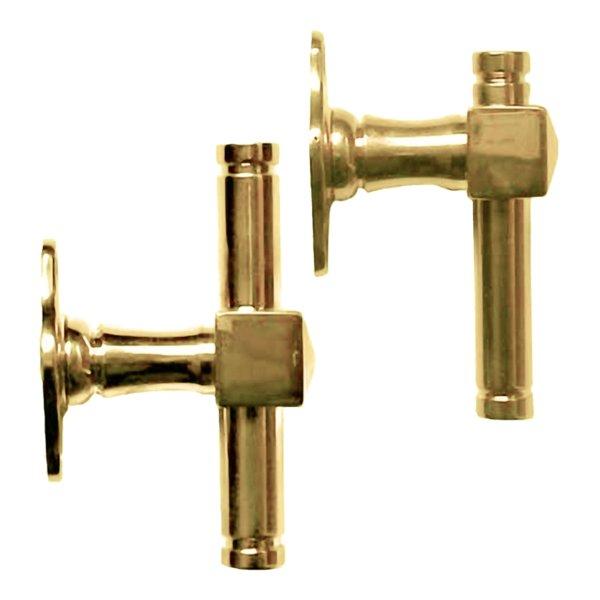 Fenstergriff oder Fensterolive 100 mm in verschiedenen Oberflächen Bild1
