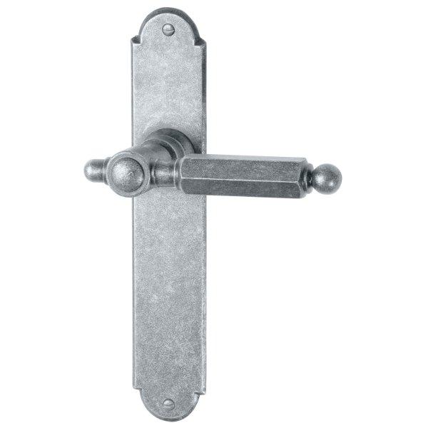 Zimmertürgarnitur thermopatiniert ®, BB, 72 mm L x B: 220 mm x 40 mm der Serie TG060 Bild1