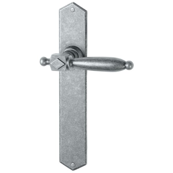 Zimmertürgarnitur thermopatiniert ®, BB, 72 mm L x B: 280 mm x 40 mm der Serie TG068 Bild1